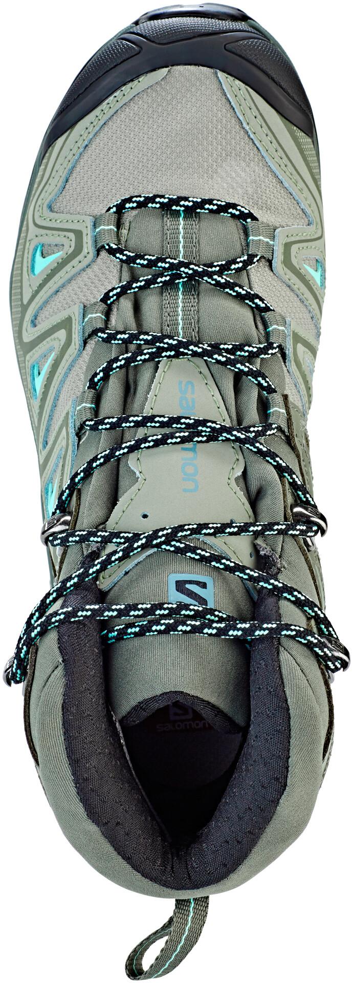 Salomon W's X Ultra 3 Mid GTX ShadowCastor GrayBeach Glass